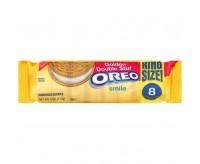 Oreo Golden Double Stuf Sandwich Cookies.(113g)