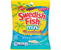 Swedish Fish Mini Tropical Soft & Chewy Candy (141g)