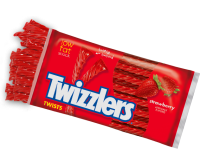 Twizzlers Twists, Strawberry (Large) (453g)