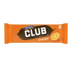 Mcvitie's Club Orange Chocolate Biscuit (176g) (BEST-BY DATE: 16-01-21)