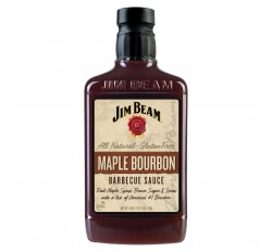 Jim Beam Maple Bourbon BBQ Sauce (510g)