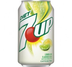 7UP Diet Lemon Lime (355ml)