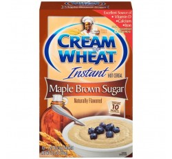 Cream Of Wheat Instant Hot Cereal, Maple Brown Sugar (10-Packets) (350g)