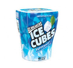 Ice Breakers Ice Cubes, Sugar Free Peppermint Gum (40 pieces)