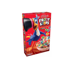 Kellogg's Froot Loops Cereal, Small (286g)