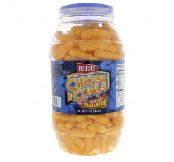 Herr's Cheese Curls, Barrel (340)