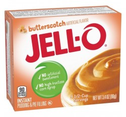 Jell-O Butterscotch, Instant Pudding & Pie Filling (96g)
