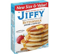 Jiffy Buttermilk Pancake & Waffle Mix (907g)