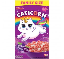Kellogg's Caticorn Berry Purrr-fection Cereal