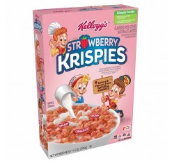 Kellogg's Strawberry Krispies Cereal (326g)