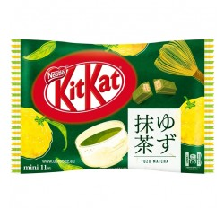 KitKat Mini, Citrus & Green Tea (Yuzu Matcha)