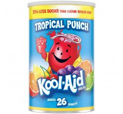 Kool-Aid Tropical Punch Drink Mix, Giant Size (1.78kg)