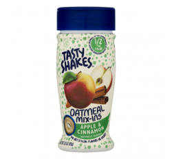 Tasty Shakes Oatmeal Mix-ins, Apple & Cinnamon (85g)