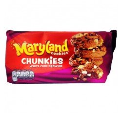 Maryland Cookies, Chunkies White Choc Brownie (144g)