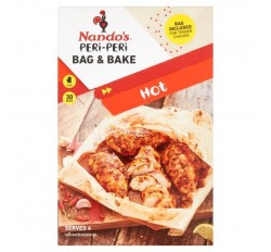 Nando's Peri Peri Bag & Bake Hot (20g)