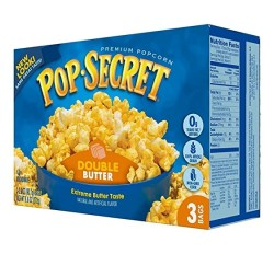 Pop-Secret, Double Butter Popcorn (3 Bags) (272g)