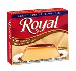 Royal Flan with Caramel Sauce (77g)