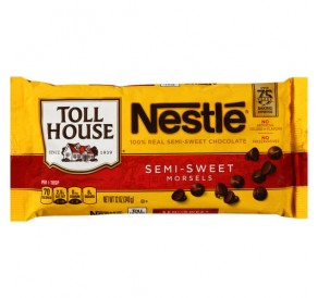 Nestlé Toll House Semi Sweet Chocolate Morsels (340g)