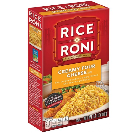 Rice-A-Roni, Creamy Four Cheese (181g)