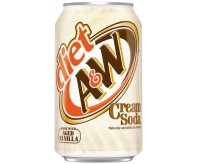 A&W Diet Cream Soda (355ml)