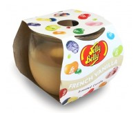 Jelly Belly Scented Candle, French Vanilla