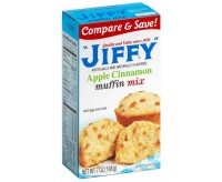 Jiffy Apple Cinnamon Muffin Mix (198g) (BEST-BY DATE: 23-04-2021)