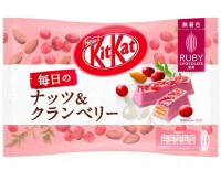 KitKat Mini Ruby Chocolate, Everyday Nuts & Cranberry (135g)