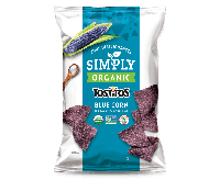 Tostitos Simply Organic Blue Corn Tortilla Chips (255g)