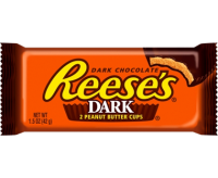 Reese's Dark Peanut Butter Cups (2-pack) (42g) (BEST-BY DATE: 30-01-21)