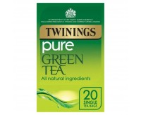 Twinings Pure Green Tea (20 Tea Bags) (50g)